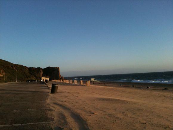 A Fall Beach Walk