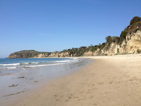 Saturday Beach Walk at Point Dume