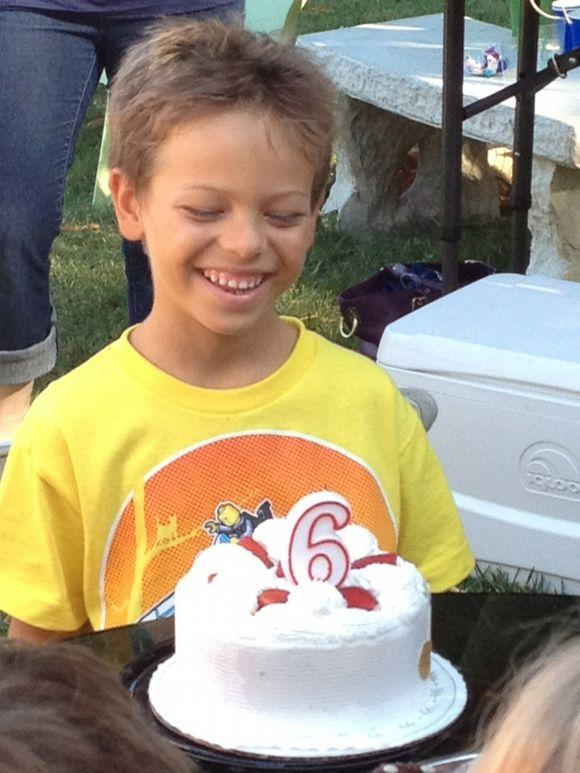 Noah Turns 6!